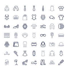 49 fashion icons vector