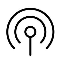 Cellular reception signal transmission network vector