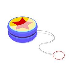 Icon yoyo vector