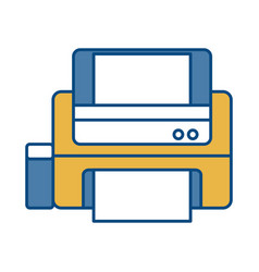 Printer icon image vector