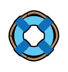 Ring buoy float vector