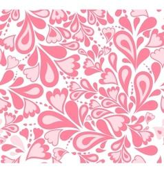 Seamless background pink splash pattern vector image