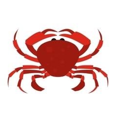 Red Crab icon vector image vector image