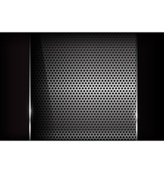 Dark chrome steel abstract background eps10 002 vector image