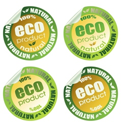 Eco set 2 vector