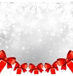 Christmas shiny background with gift boxes vector image vector image