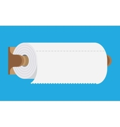 kitchen paper towel vector image