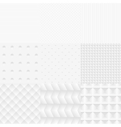 White Textures vector image vector image