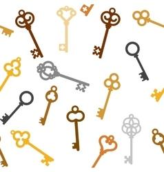 vintage skeleton keys vector image