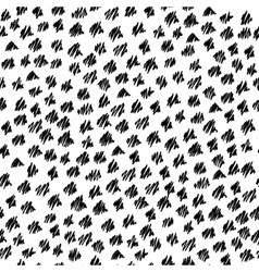 Abstract seamless hand-drawn scribbles pattern vector image vector image