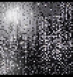 Background sparkling black sequins vector