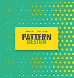 blue and yellow polka dots background vector image