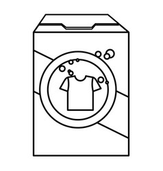 detergent powder product icon vector image