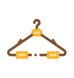 hanger for cloth icon outline vector image