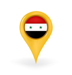 Location Syria vector