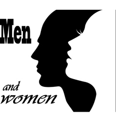 Men and women vector image