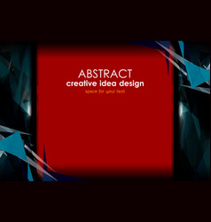 modern abstract backgrounds design vector image