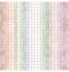 seamless paisley tile vector image vector image