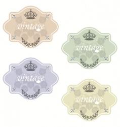 wine labels16 vector image vector image