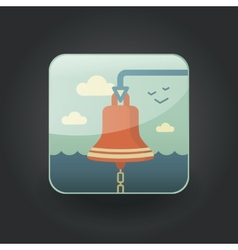App icons bell vector