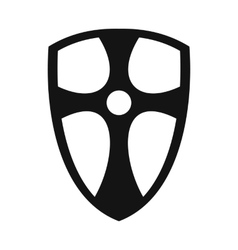 Best shield simple icon vector image