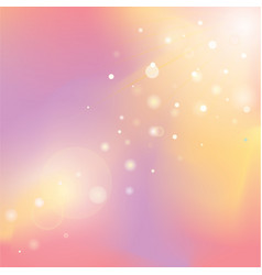 defocused rays lights bokeh abstract banner vector image