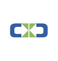 Distribute two direction symbol design vector
