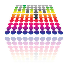 Dotted eq equalizer graphics transparent vector