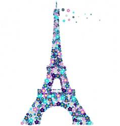 Eifel tower vector