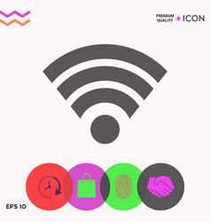 Internet connection icon vector