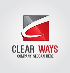 Modern Letter C Logo vector image