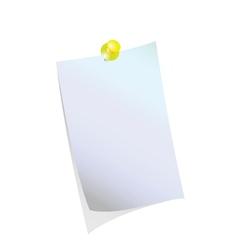 Reminder blank vector