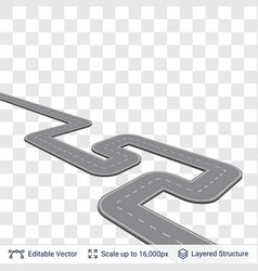 road construction element vector image