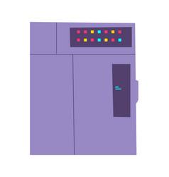 server rack cartoon vector image