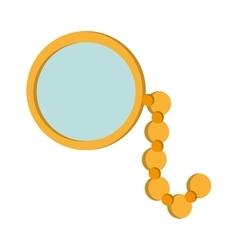 Single monocle icon vector