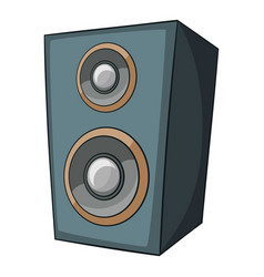 music speaker icon cartoon style vector image vector image