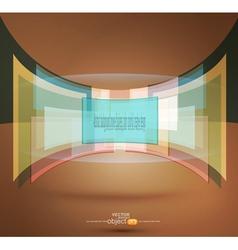 pastel colors vector image