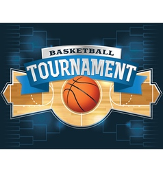 Basketball Tournament vector image vector image