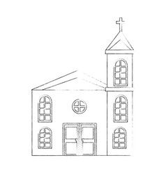 church icon image vector image