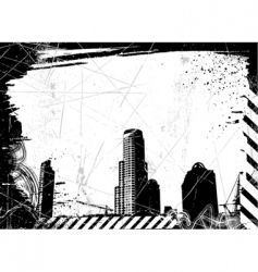 city background vector image vector image