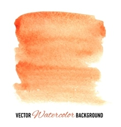 Hand drawn watercolor background for presentation vector image vector image