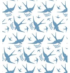 swallows vector image vector image