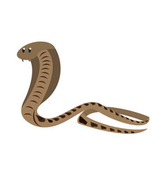 Cobra african snake vector