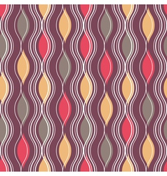 Geometric colorful pattern background vector image