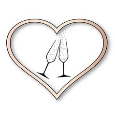 love celebration vector image