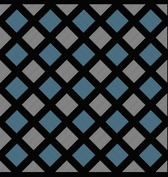 seamless geometric square pattern background vector image