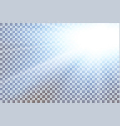 Sky sun flare transparent background clear vector