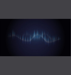 Sound wave dynamic vibration wallpaper vector