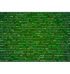 Source code screen vector