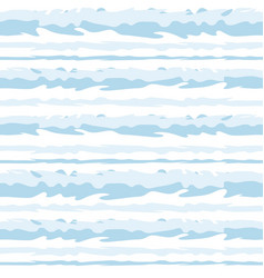 striped marine seamless pattern image vector image